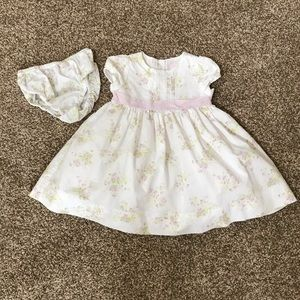 Janie and Jack Easter dress 6-12 months